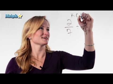 Learn Fractions - How to Divide Fractions