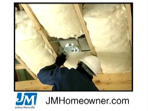 Insulating Attic Ceilings