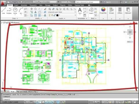 Autocad 2012 Tutorial 1.1 - The User Interface
