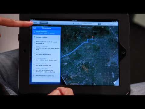 How to Use Maps on The iPad