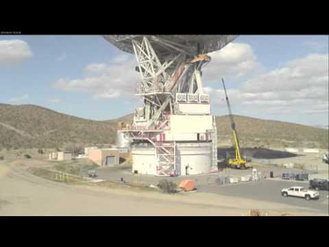 NASA Antenna Gets its Bearings