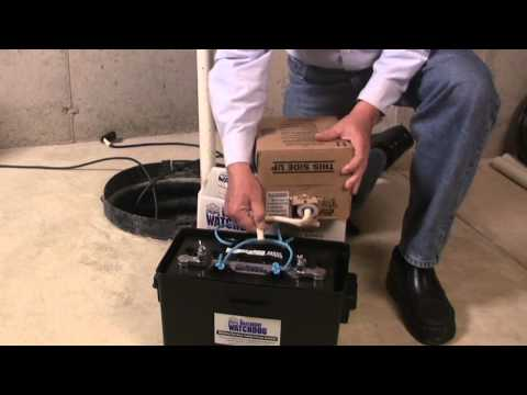 How to Fill a Standby Battery with Fluid - Basement Watchdog