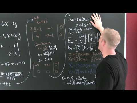 Solving ODE's with Complex Eigen Values.mov