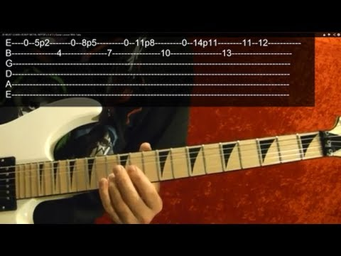 SPEED!!! Guitar Lesson Video #2