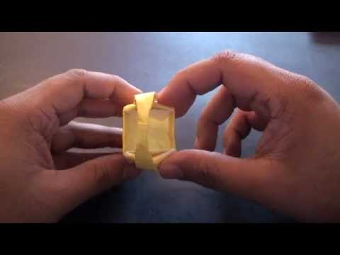 Origami Daily - 256: Easter Basket (Egg Basket) - TCGames [HD]
