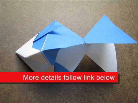 How to Fold Origami Sea Bream - OrigamiInstruction.com