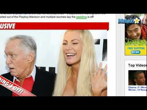 Hugh Hefner's Wedding to Crystal Harris Cancelled