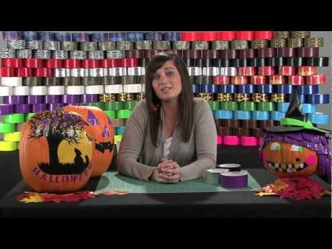 How to Make a Duct Tape Jack-O-Lantern