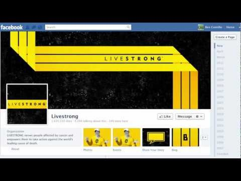 Facebook Pages Timeline - Change Profile Picture