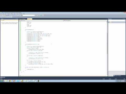 C# Beginners Tutorial - 157 - Project 3 Hang Man, Drawing Bosy and Arms