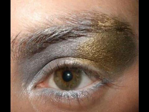 La Roux Bulletproof makeup inspired tutorial Elly Jackson