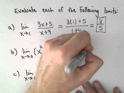 Limit Laws to Evaluate a Limit , Example 3