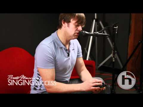 Brett Manning tries the TC Helicon VoiceTone E1 for the first time