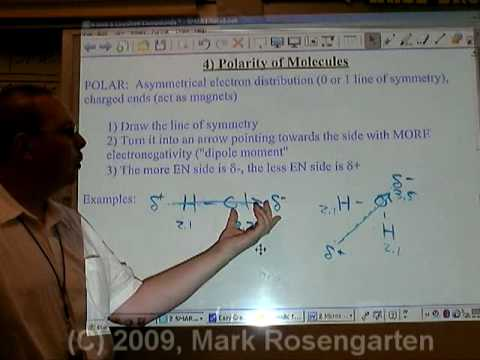 Chemistry Tutorial 7.1c:  Molecular Polarity