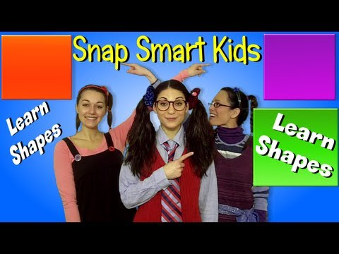 "Shapes - Snap Smart Kids - ""Shapes for Children"""
