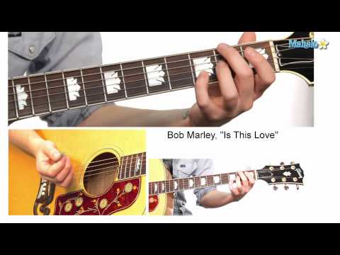 "How to Play ""Is This Love"" Verse by Bob Marley on Guitar"