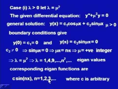 Mod-2 Lec-9 Boundary Value Problems