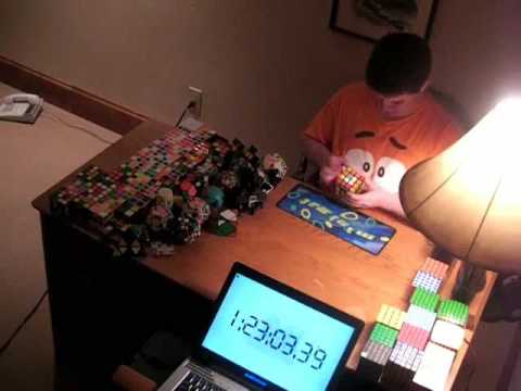Solving 69 Cubes in 3 Hours: The Greatest and Best Marathon in the World