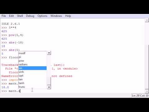 Python Programming Tutorial - 4 - Modules and Functions