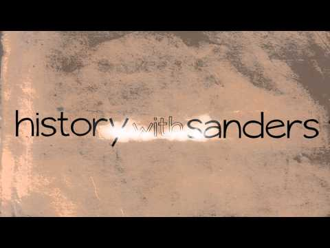 history with sanders bumper