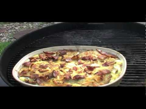 Egg Casserole on the Grill