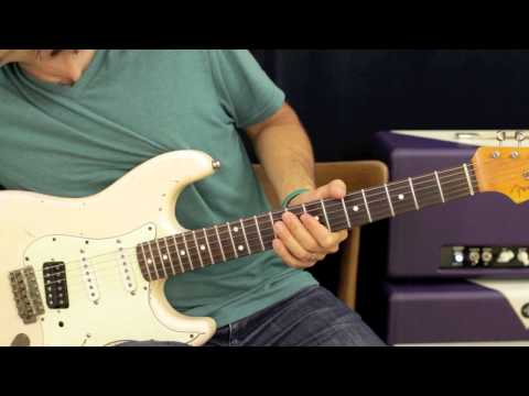 Free Rhythm Guitar Lesson - Right Hand Workout