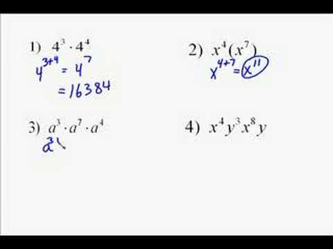 A18.1 Exponent Properties