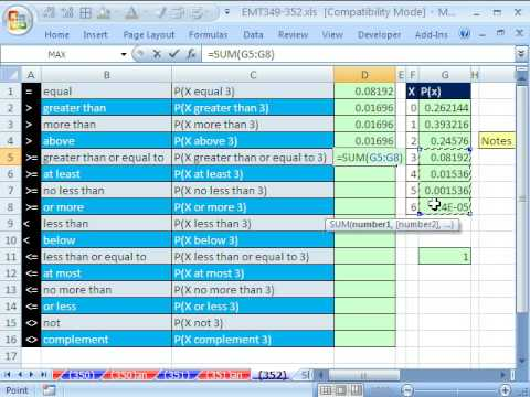 Excel Magic Trick 352: English and Math Comparative Operators