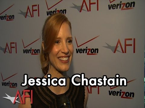 Actress Jessica Chastain at the AFI Awards