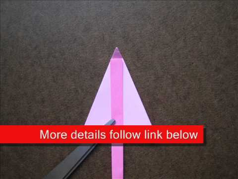 How to Fold Origami Umbrella - OrigamiInstruction.com