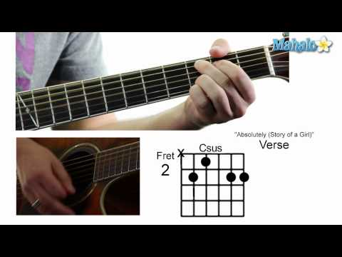 "How to Play ""Absolutely (Story of a Girl)"" by Nine Days on Guitar"