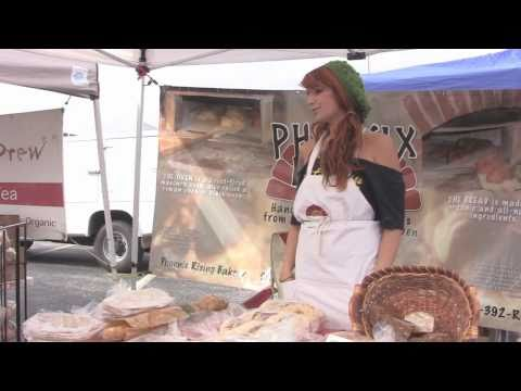 Farmers Market and Local Grown Food, Corrina Visits Barton Creek Farmers Marker