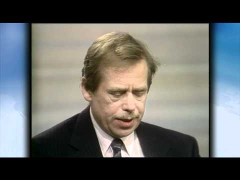 Madeleine Albright on Vaclav Havel's 'Massive Moral Authority, Great Courage'