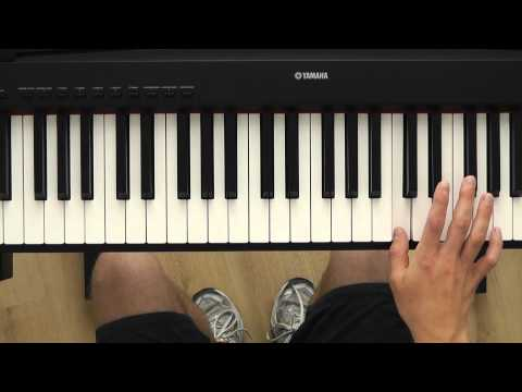♫ How To Play Beautiful Akon Piano Tutorial HD