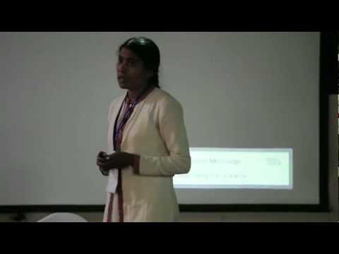 TEDxKCG - Uma Prajapati - A girl from Bihar who wanted to be a Designer