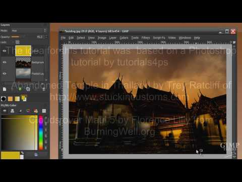GIMP tutorial- Making broad daylight a scary place - Image manipulation in GIMP