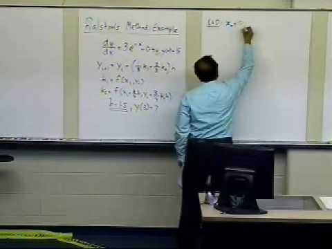 Runge Kutta 2nd Order Method: Ralston Method: Part 1 of 2