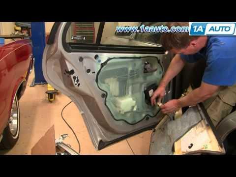 How To Install Repair Replace Rear Door Panel Buick Lesabre 00-05 1AAuto.com