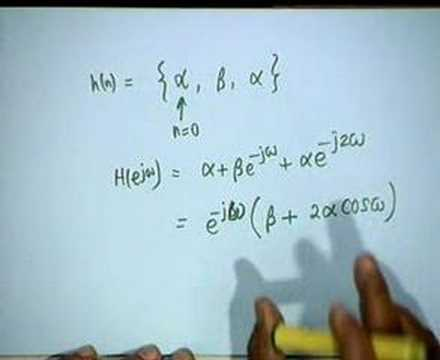 Lecture - 14 Discrete Time Systems in the Frequency Domain