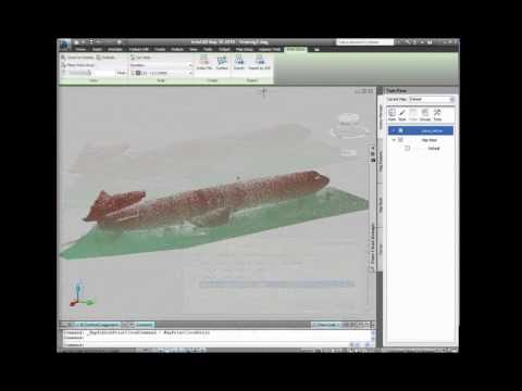 Ted Reeler, Ambercore, Discusses Point Cloud Technology at Autodesk University 2009