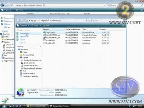 Windows Vista - Windows Easy Transfer