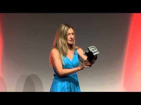 "TEDxBerlin - Nina Gaissert - ""Human Nature Shaping the Production of the Future"""