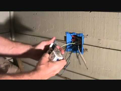 Connecting a switch & plug combo to a GFCI receptacle...Part 3