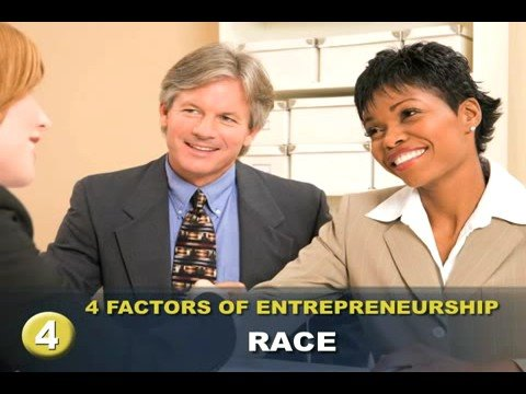 Four Factors of Entrepreneurship