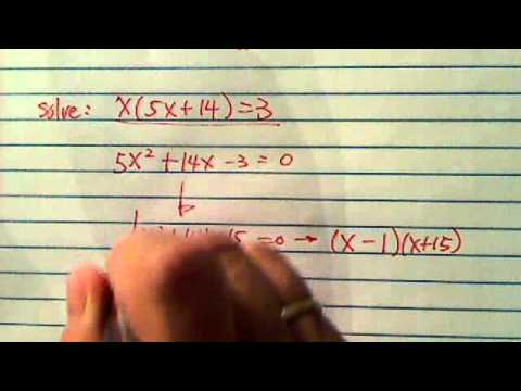 how to factor polynomials using triple play method (a shortcut!)