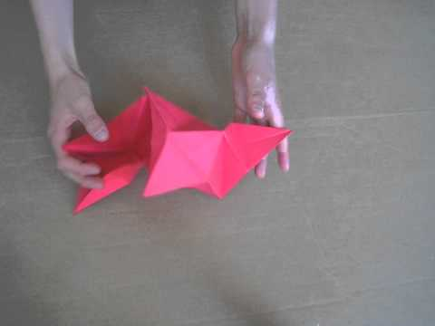 Origami Star Tutorial by Michael Anton
