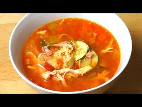 Chicken Minestrone - RECIPE