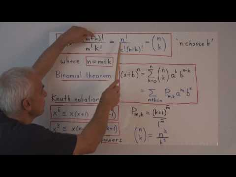 MF55: Binomial coefficients and related functions