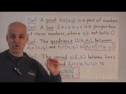 WT42: An algebraic framework for rational trigonometry (I)