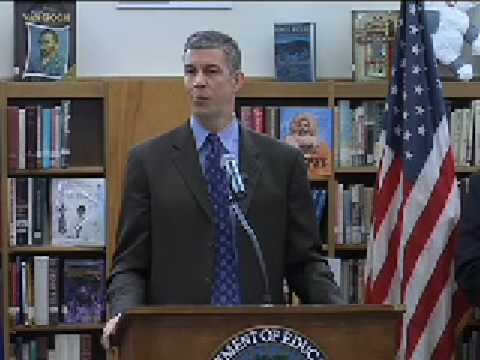 Arne Duncan Visits Wakefield High School, Arlington, VA